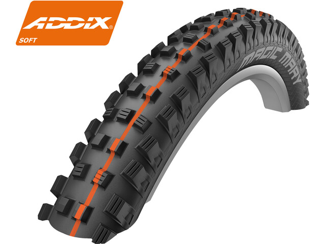 "SCHWALBE Magic Mary Folding Tyre 27,5"" Addix Soft SuperG TL-Easy"